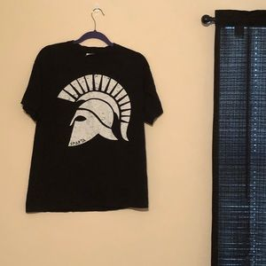 Black & White Sparta Shirt